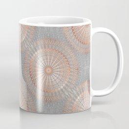 Rose Gold Gray Mandala Coffee Mug