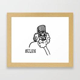 Allen Framed Art Print