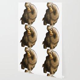 kawaii sloth eating pizza Wallpaper