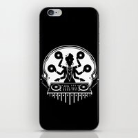 shiva iPhone & iPod Skins featuring Disco Shiva by starplexus