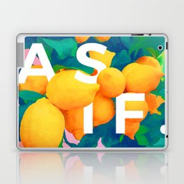 As If #society6 #decor #buyart Laptop & iPad Skin