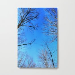 scratch the sky Metal Print