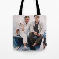 ripley Tote Bags featuring TALENTED MR. RIPLEY by VAGABOND