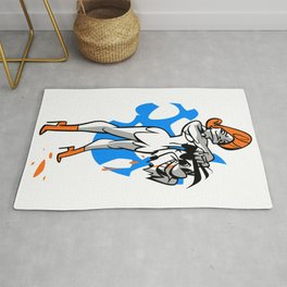 Wilma vs Fred Rug