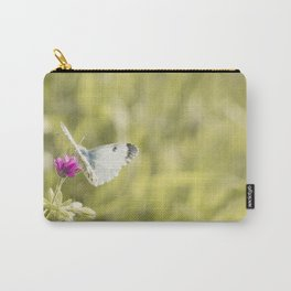 Butterfly on a spring flower Carry-All Pouch