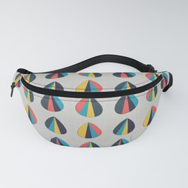 Abstract Petals Fanny Pack