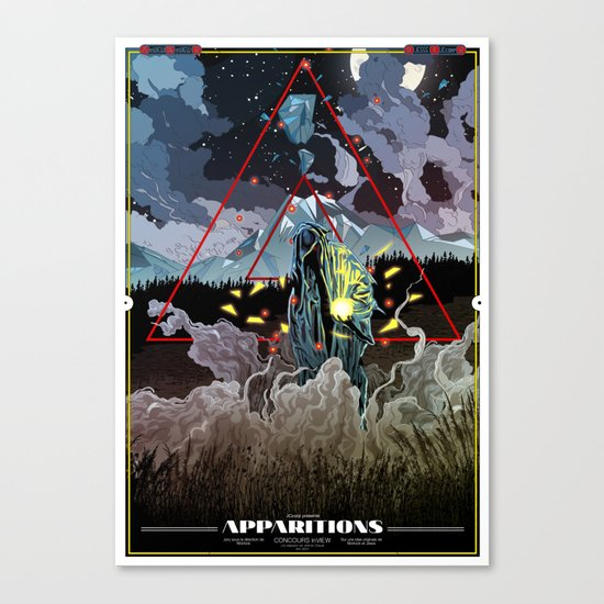 Apparitions Canvas Print