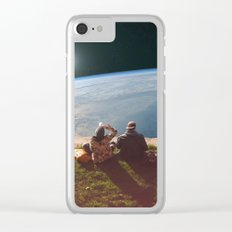 Homesickness Clear iPhone Case