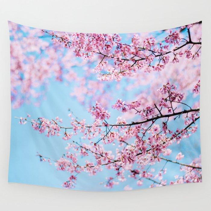 Sakura 06 Wall Tapestry