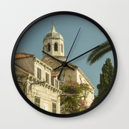 Cavtat Church Wall Clock