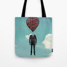 balloon man Tote Bag