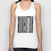 manhattan Tank Tops featuring Manhattan by Hoods