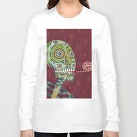 happy birthday Long Sleeve T-shirts featuring Happy Birthday by Santiago Uceda