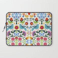 flower folk art Laptop Sleeve
