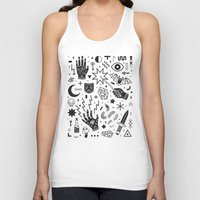 witchcraft Tank Tops featuring Witchcraft II by LordofMasks