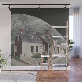 Living in the Moon's Shadow Wall Mural