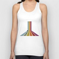lonely Tank Tops featuring Lonely by Whitney Retter