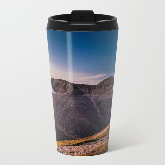 Southern Alps I Metal Travel Mug