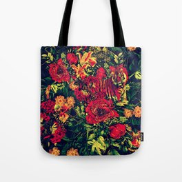 Vivid Jungle Tote Bag