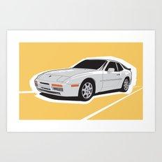 Turbo Driver Art Print