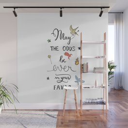 Hunger Game quality calligraphy Wall Mural