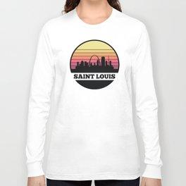 Saint Louis Skyline Long Sleeve T-shirt