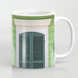 Green Creole Cottage Coffee Mug
