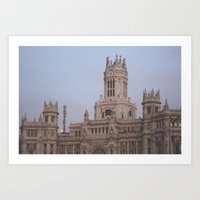 madrid Art Prints featuring Madrid by AnnaLee Barclay