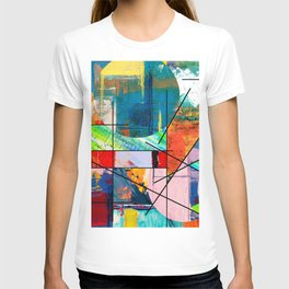 Escape Reality - Abstract Expressionism T-shirt
