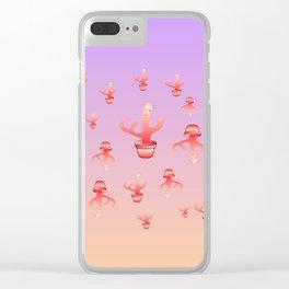 Cactus Girls Clear iPhone Case