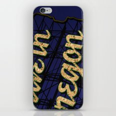 Not The Same Anymore iPhone & iPod Skin