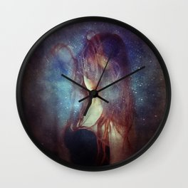 from the fringes of the milky way Wall Clock