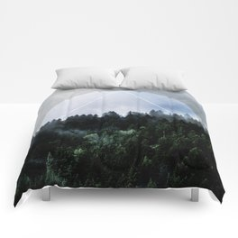 Foggy Woods 3X Comforters
