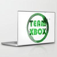 xbox Laptop & iPad Skins featuring Team XBox by Bradley Bailey