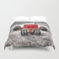 farm Duvet Covers featuring Farm All by Kent Moody