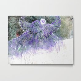 Snow Angel On Mountaintop Above Dewdrop Holler Metal Print
