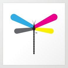 LibelluleMonde Logo Art Print