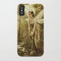 games iPhone & iPod Cases featuring Faerie Games by Ginger Kelly Studio