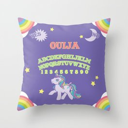 My Little Pony Ouija Board Throw Pillow