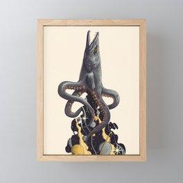 Barracuda Framed Mini Art Print
