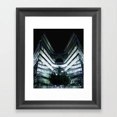 More London Place - Night Framed Art Print