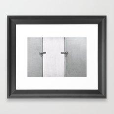 closed#04 Framed Art Print