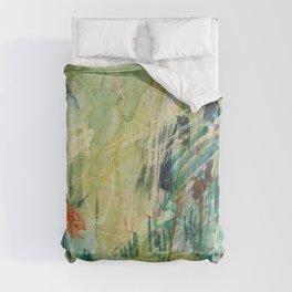 spring scribbles Comforters