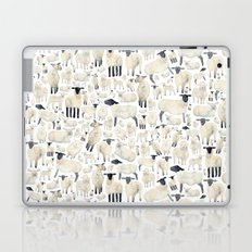 Watercolour Sheep Laptop & iPad Skin