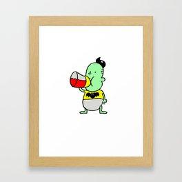 Vamp baby Framed Art Print
