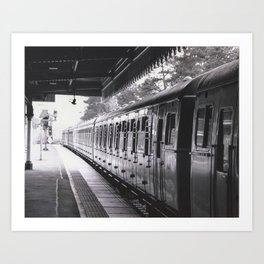 All Trains Lead To Chistlehurst Art Print