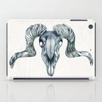 ram iPad Cases featuring Ram by Adrianna Grężak
