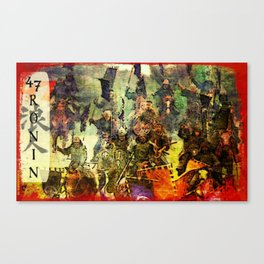 The Ride of the 47 Ronin Canvas Print