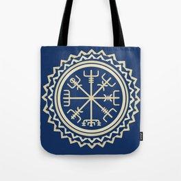 Viking Vegvisir Compass Tote Bag