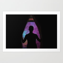 GLIMPSE OF THE UNIVERSE Art Print
